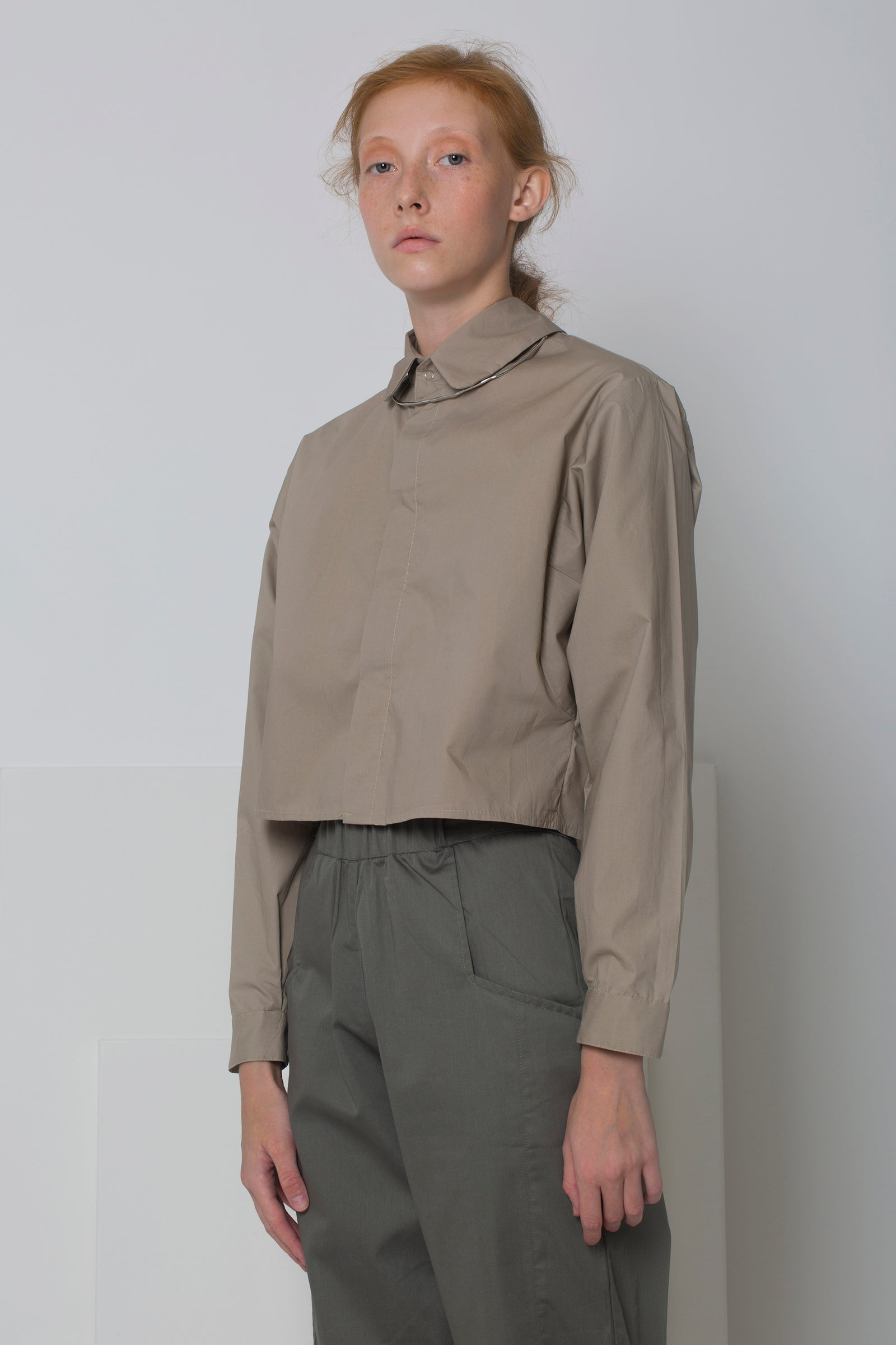 Shirt Megu in Cotton Poplin Colors