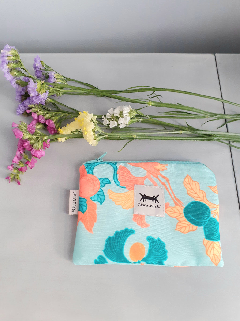 WATERPROOF POUCH MINI * JAPANESE PRINTS