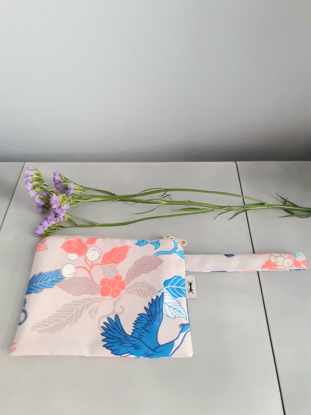 WATERPROOF POUCH MIDI * JAPANESE PRINTS