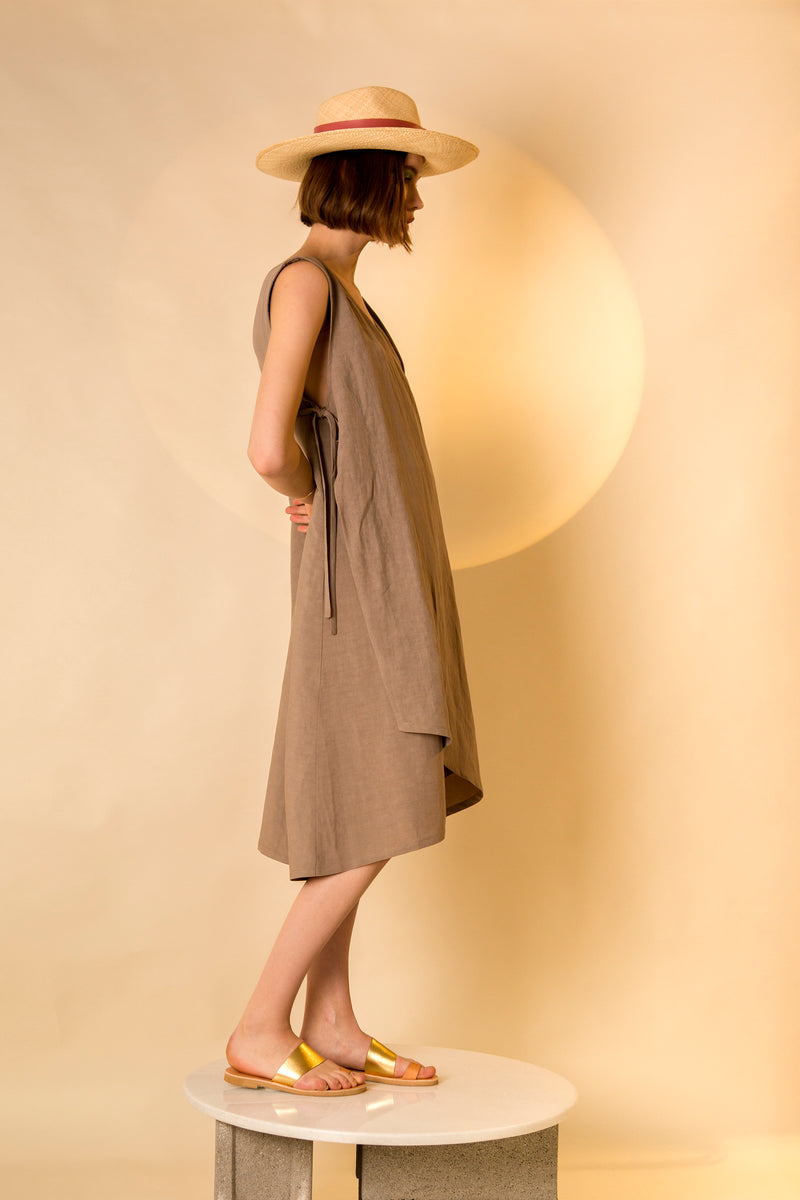 Dress Afurika in Linen Colors