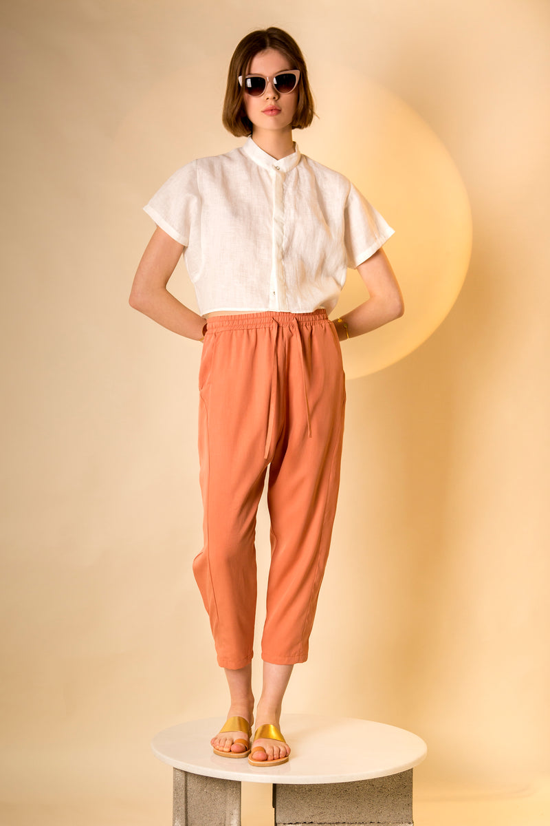 Pants Tada in Tencel Gabardine Colors