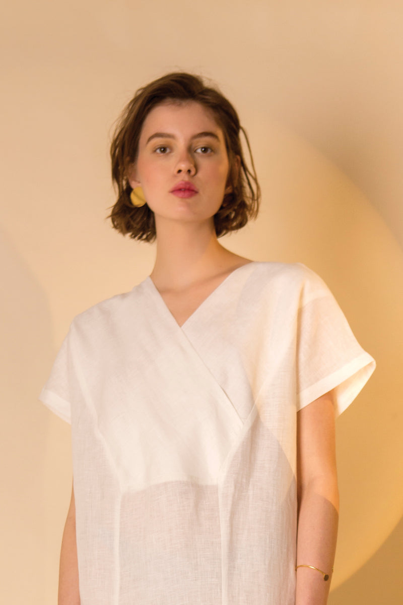 CAFTAN MIKO-NO * LINEN COLOURS