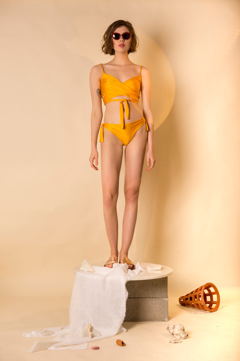 BIKINI SET MIU *GOLDEN SUN COLOURS