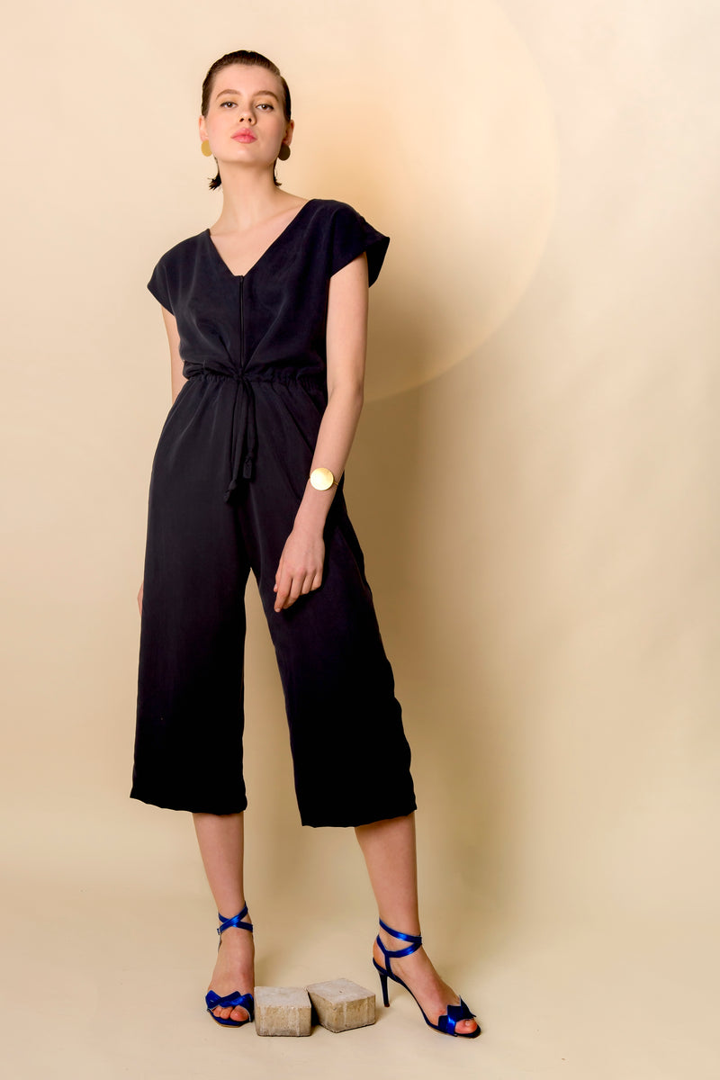 Jumpsuit Kyuwa in Tencel Gabardine Colors