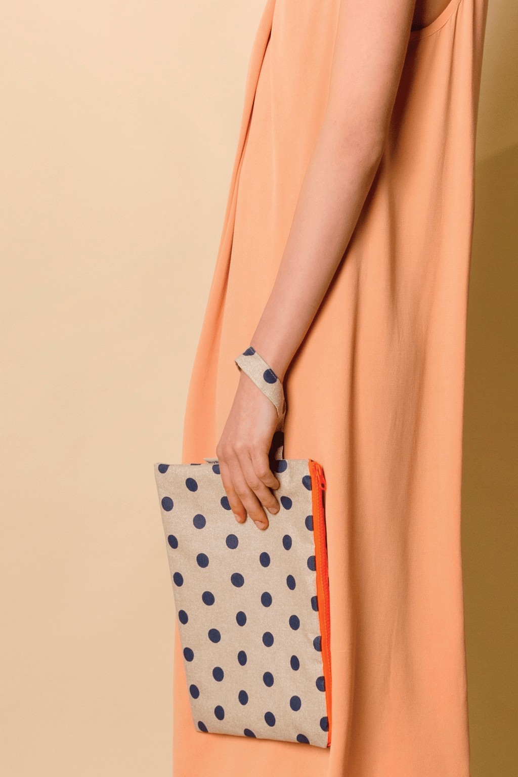 Waterproof Pouch Big in Polka Dots