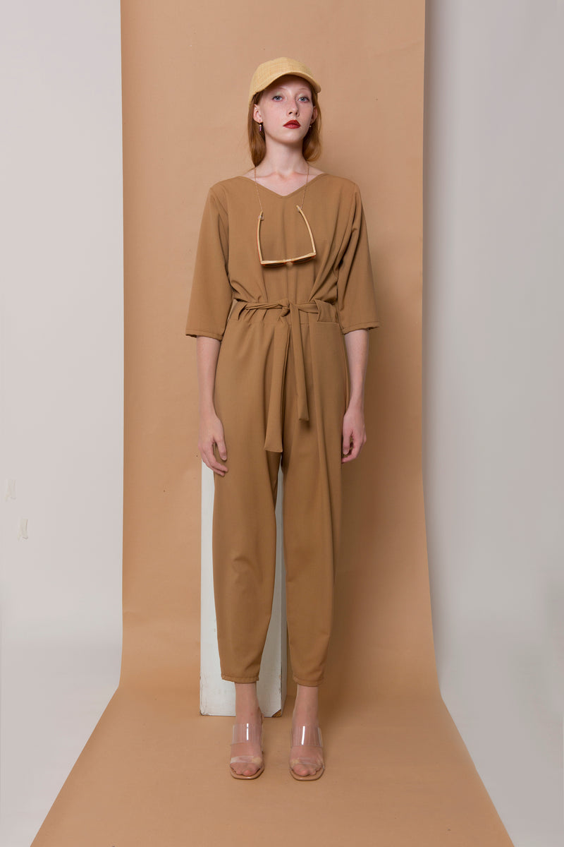 Jumpsuit Kuno in Terry Rayon Colors