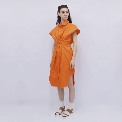 Shirt Dress Nanami in Cotton Poplin Colors