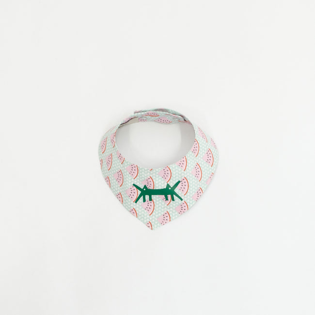 Doggy Scarf in Cotton Poplin Watermelon Print