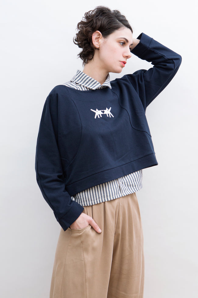 Sweatshirt Kuba in Cotton Colors