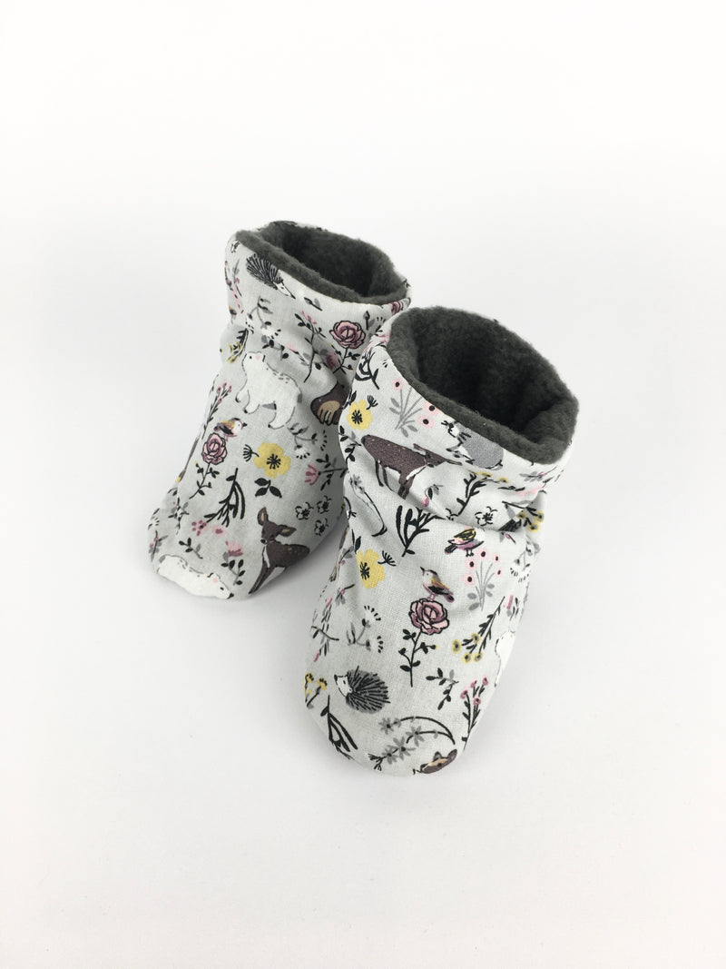 BABY SHOES * FOREST ANIMALS