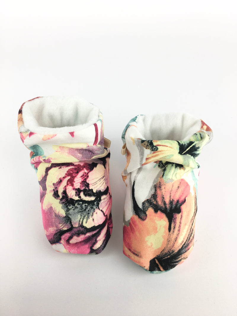 BABY SHOES * FLORAL LOVE
