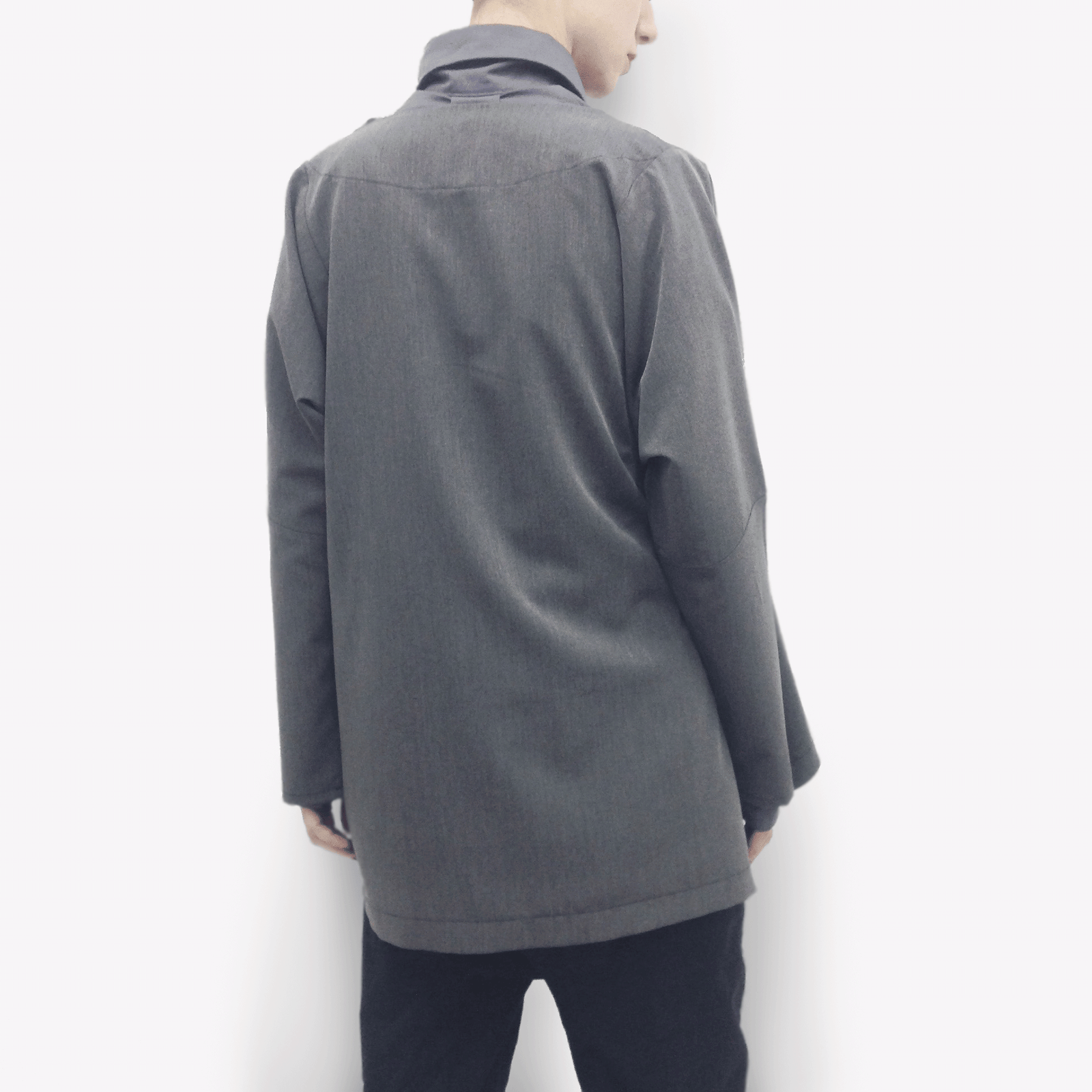 Jacket Nana in Terry Rayon Gabardine