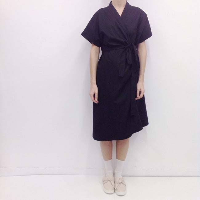 Dress Kimono in Cotton Poplin