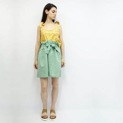 Wide Shorts Hiraku in Cotton Linen Colors