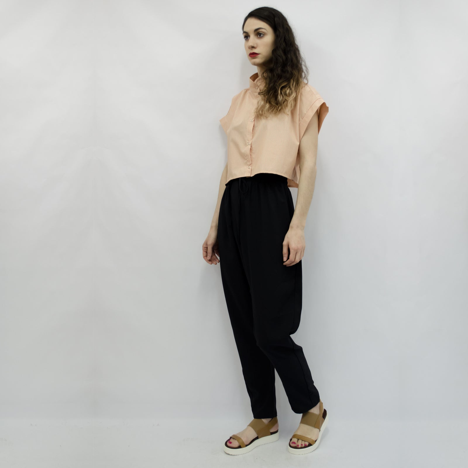 Trousers Keiko in Light Terry Rayon Colors
