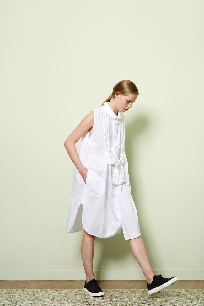 Shirt Dress in Cotton Poplin Colors