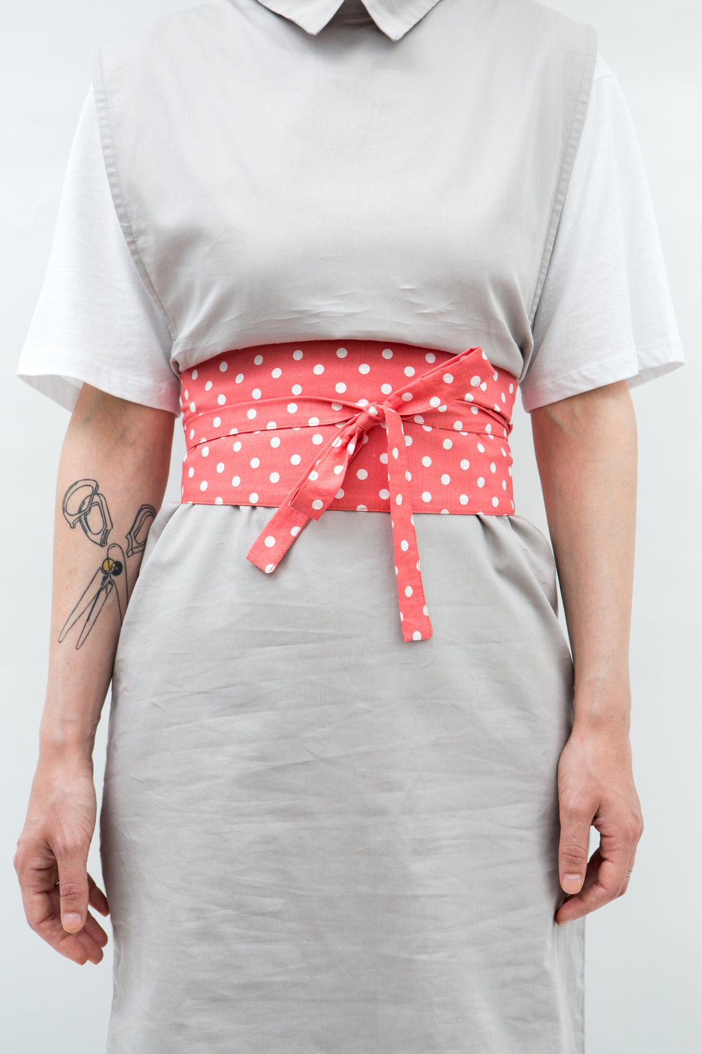 Belt Kimono in Polka Dot Colors