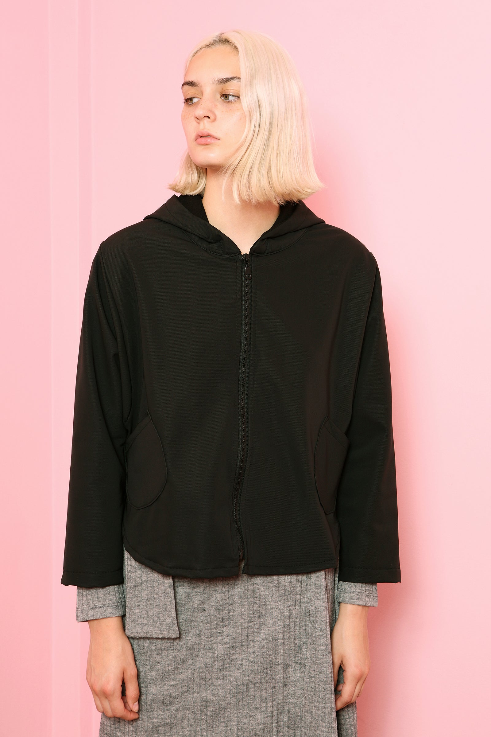 Jacket Chouchou in Waterproof Black