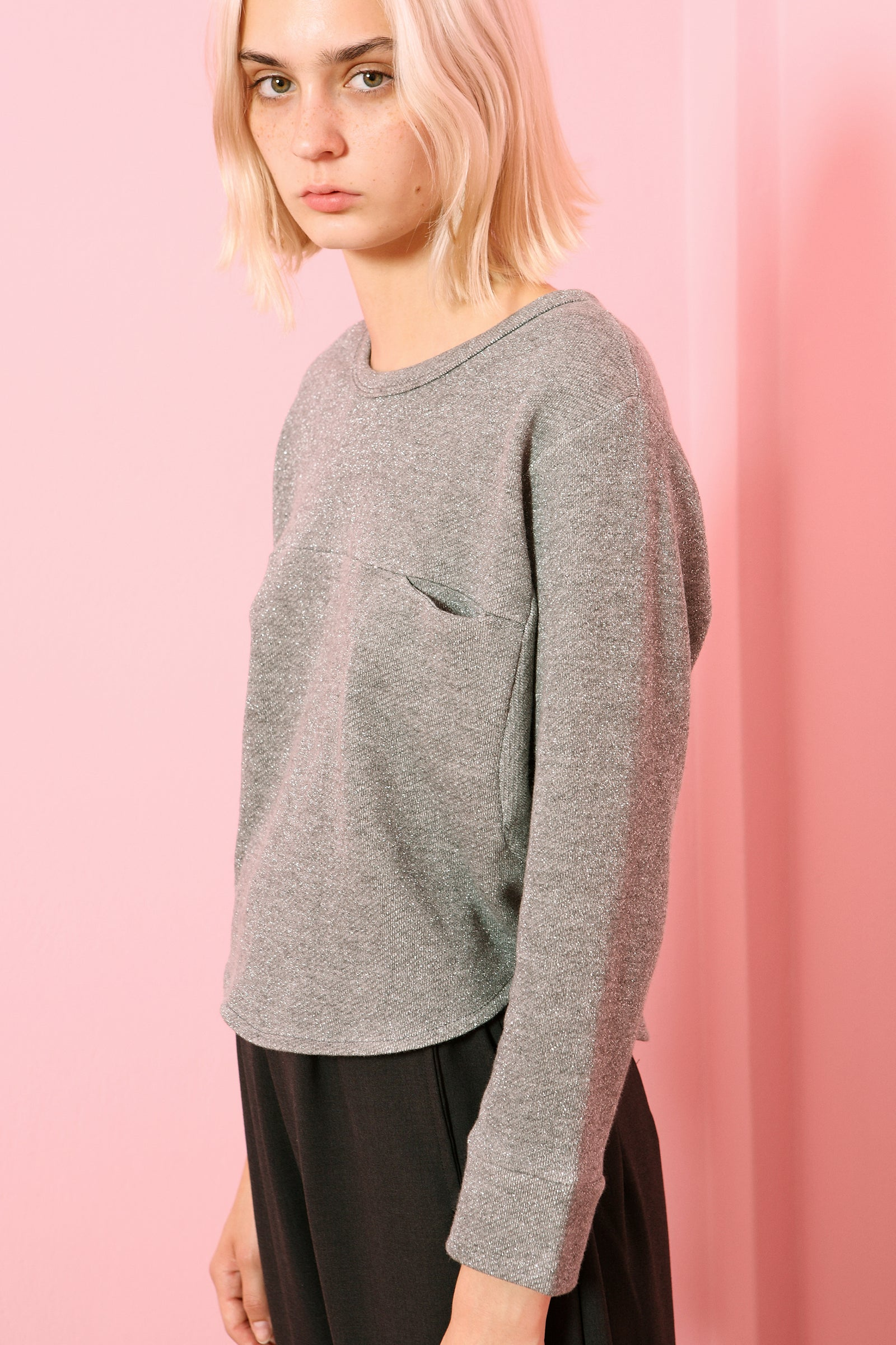 Top Chouchou in Cotton Sweatshirt