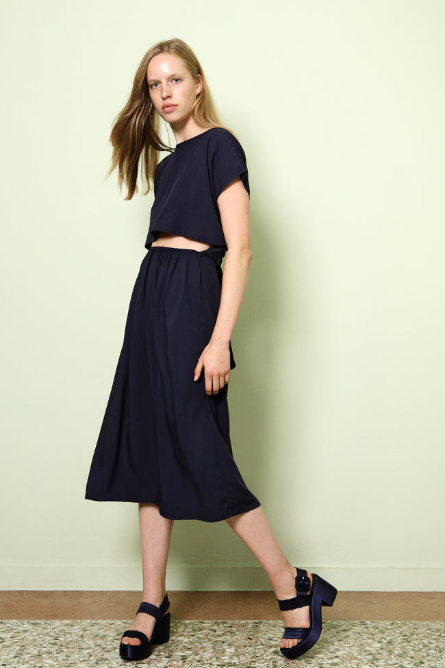 Dress Chu-Musubi in Viscose Colors