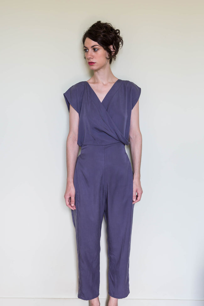 Jumpsuit Hanako in Tencel Gabardine Colors