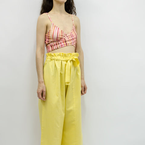 Wide Leg Trousers Hiraku in Cotton Linen Colors
