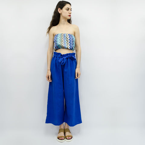 Wide Leg Trousers Hiraku in Linen Colors