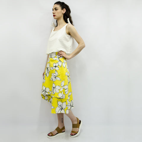 Skirt Milo in Lemon Floral