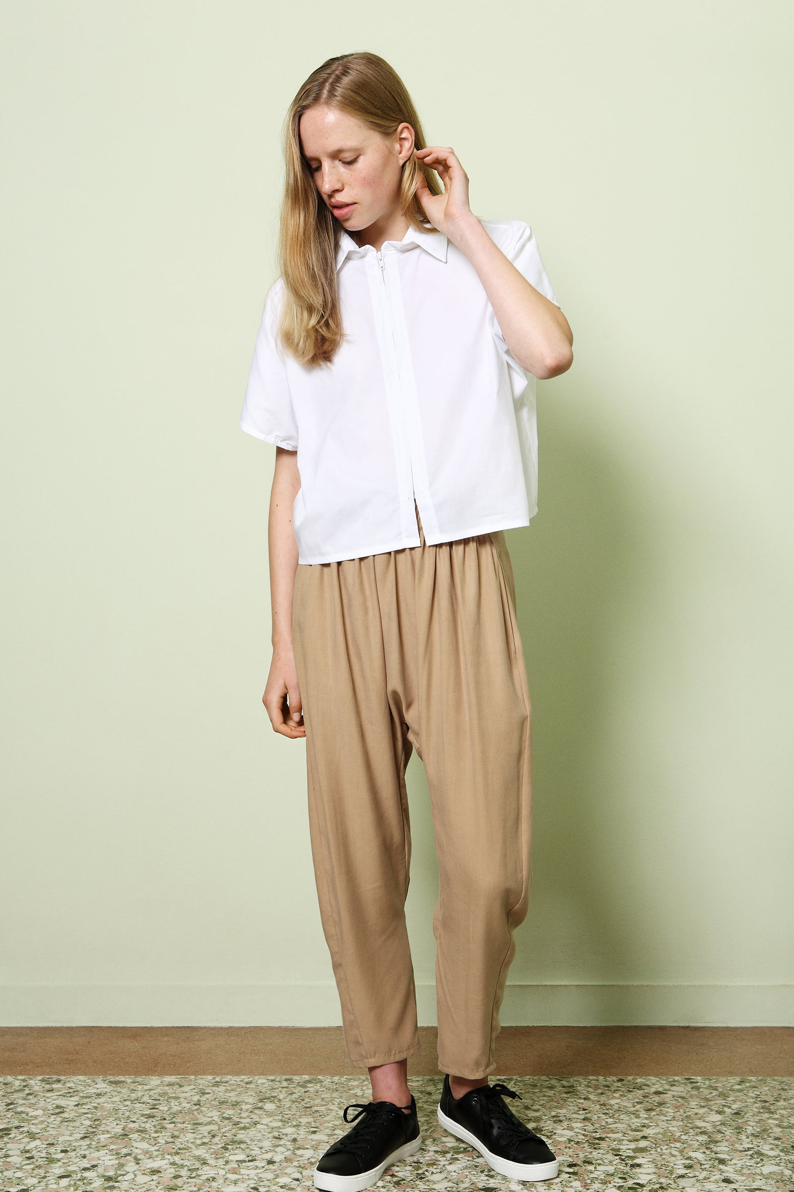 Trousers Pikatsu in Tencel Gabardine Colors