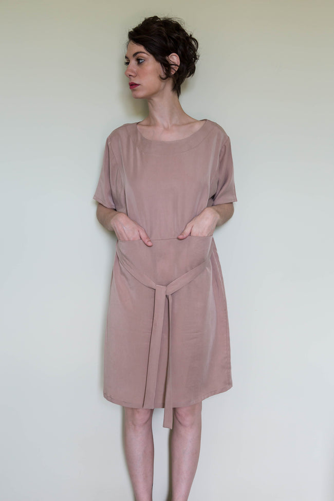 Dress Sakae in Tencel Gabardine Colors