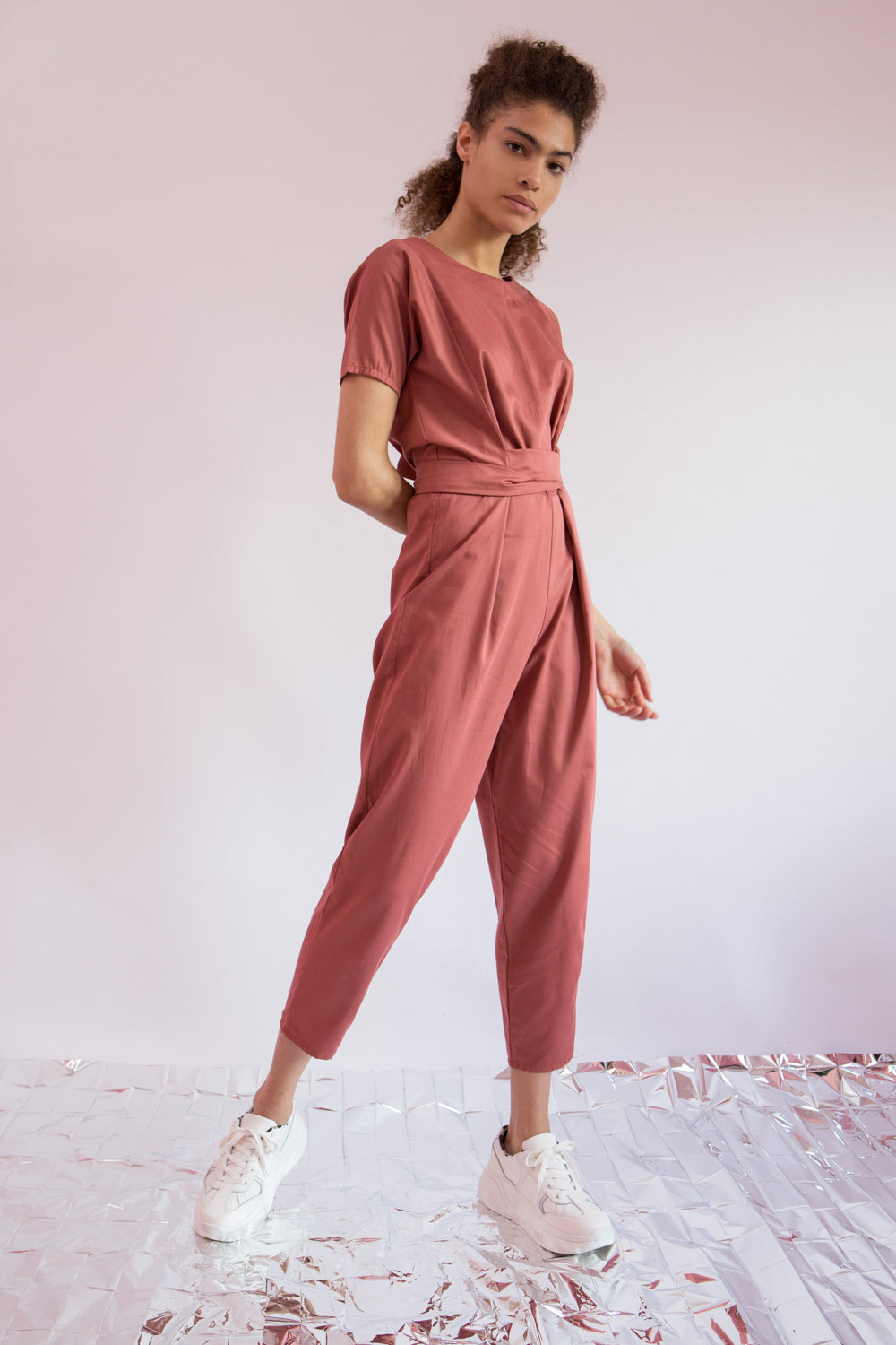 Jumpsuit Akasuki in Cotton Gabardine