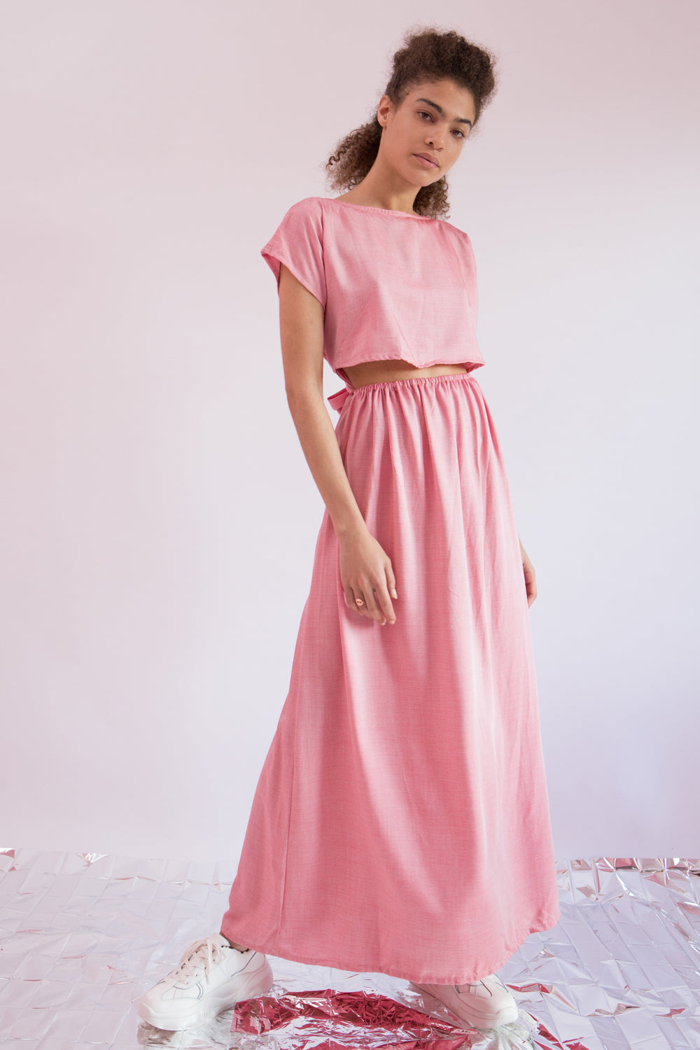 Maxi Dress Chu-Musubi in Viscose