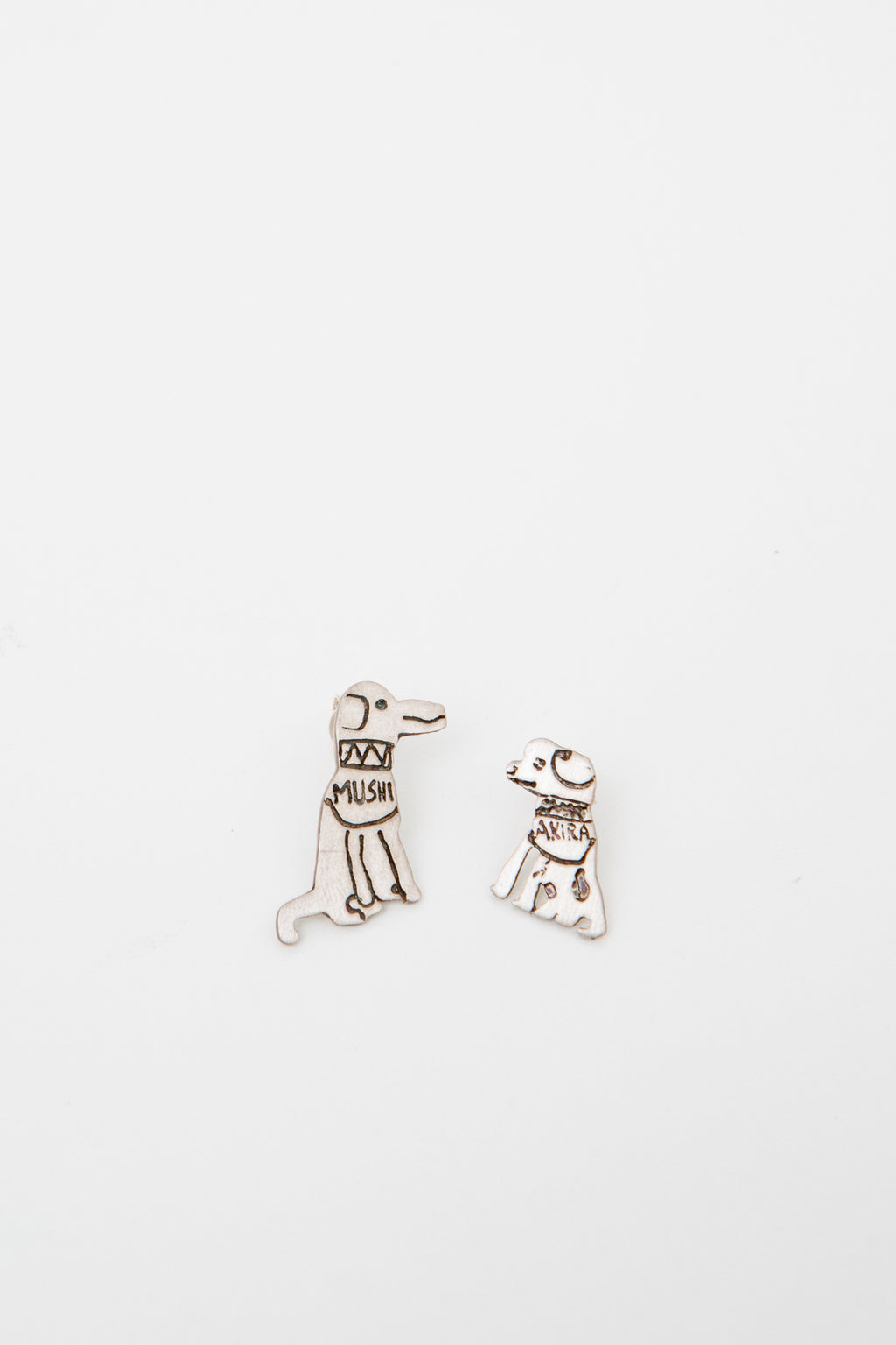 EARRINGS AKIRA & MUSHI * BEST FRIENDS