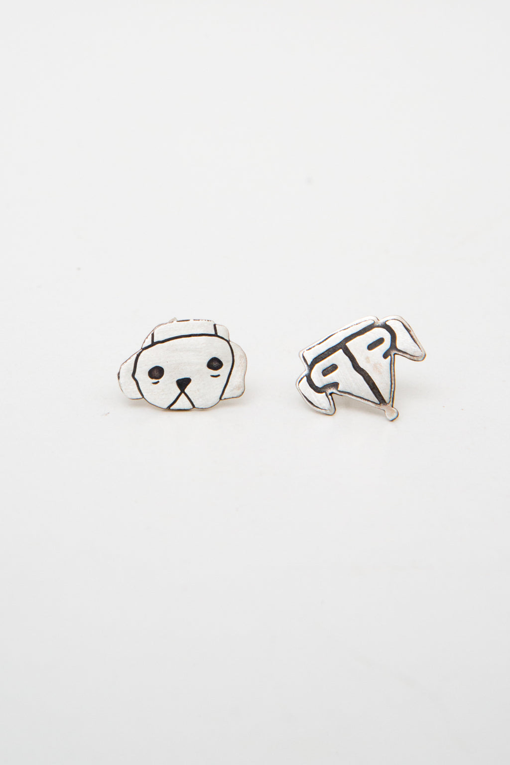 EARRINGS AKIRA & MUSHI PORTRAITS