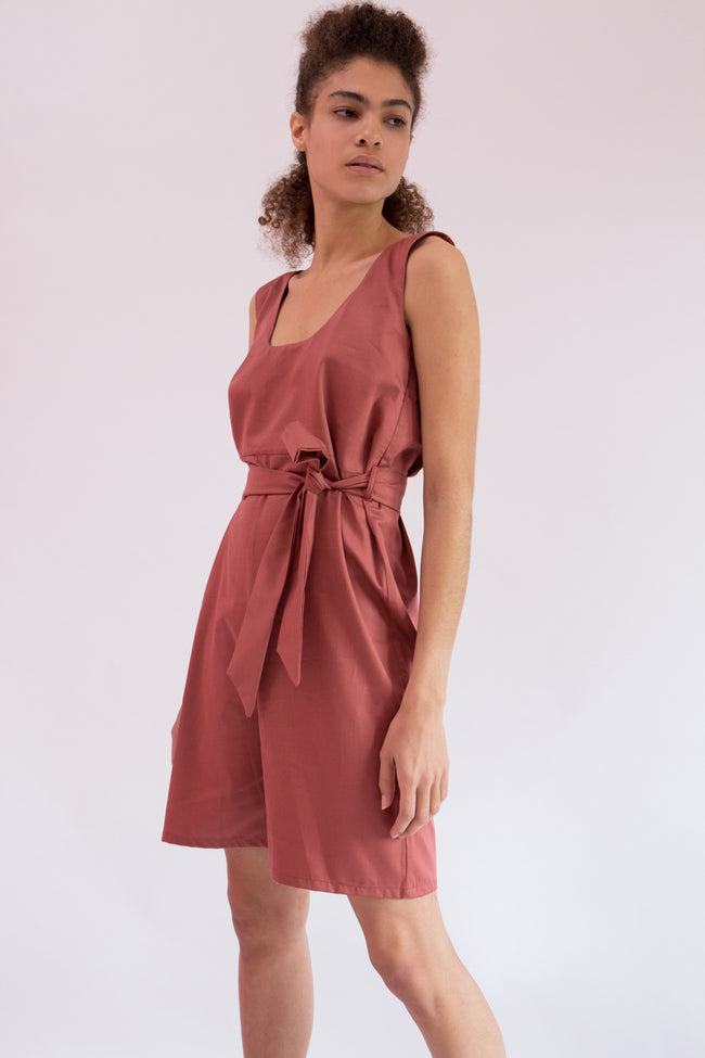 Jumpsuit Osami in Cotton Gabardine
