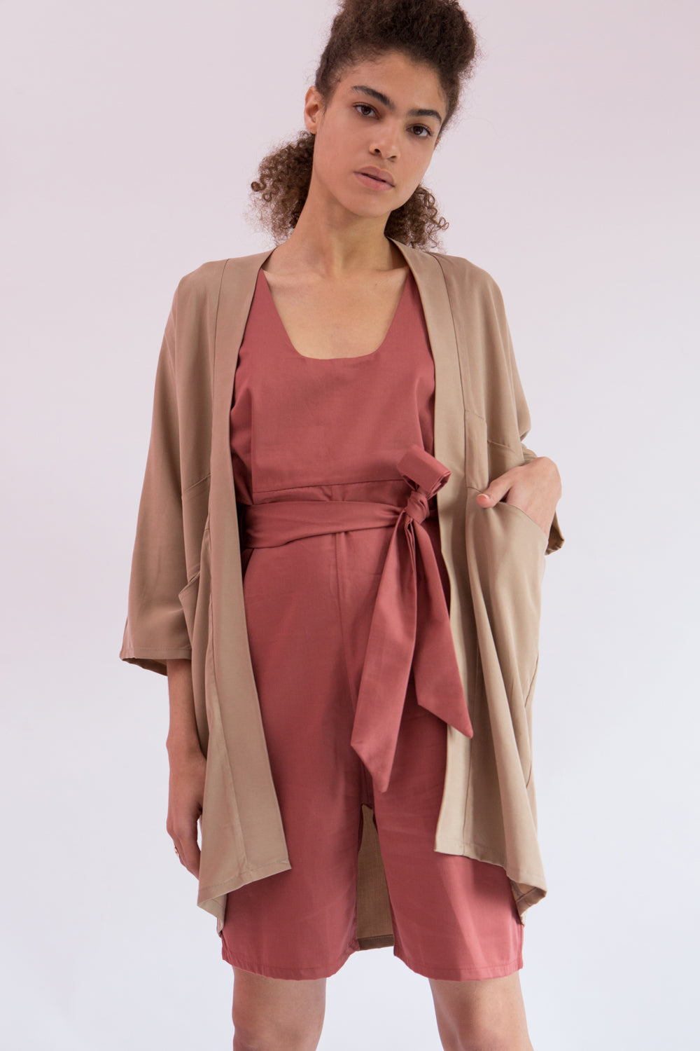 Cardigan Kami in Tencel