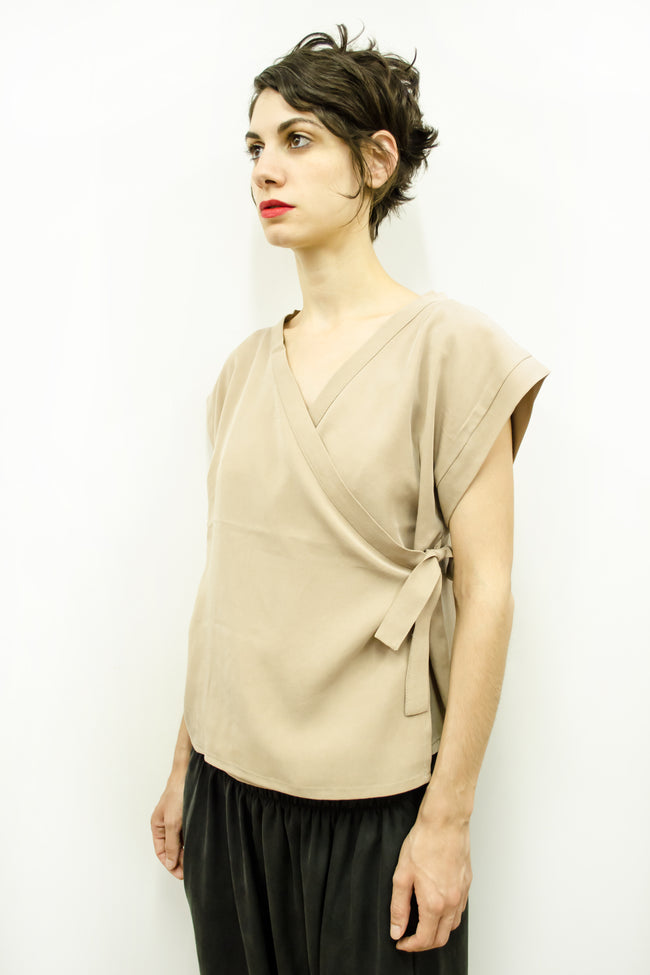 Top Suki in Tencel Gabardine Colors