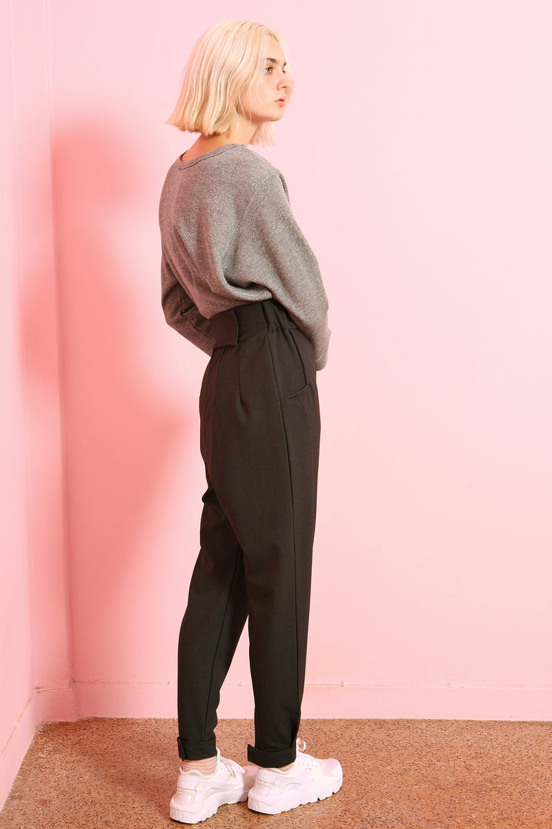 Trousers Tora in Terry Rayon