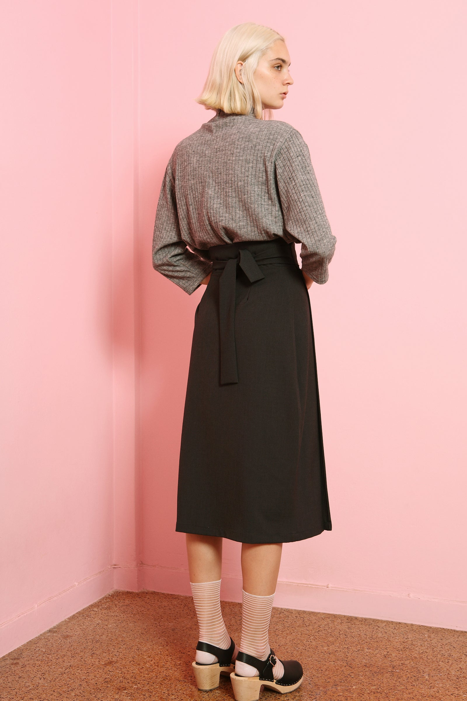 Skirt Tori in Terry Rayon