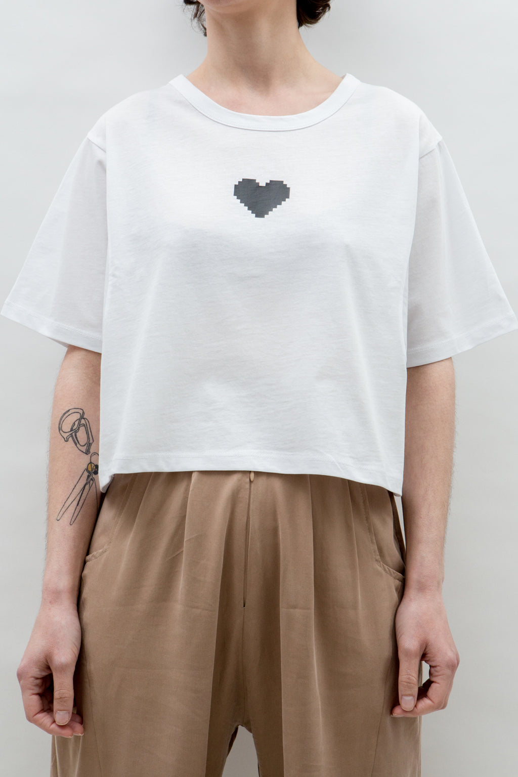 T-Shirt Cropped PixeLove Heart