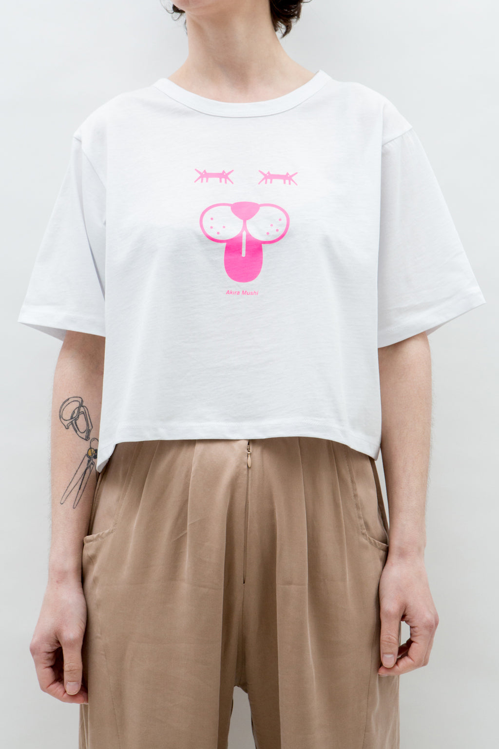 T-SHIRT CROPPED * DOGGIE FACE