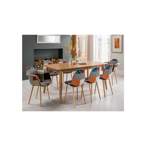 Woody Arm Silla Tapizada de Abs y Madera - Multicolor