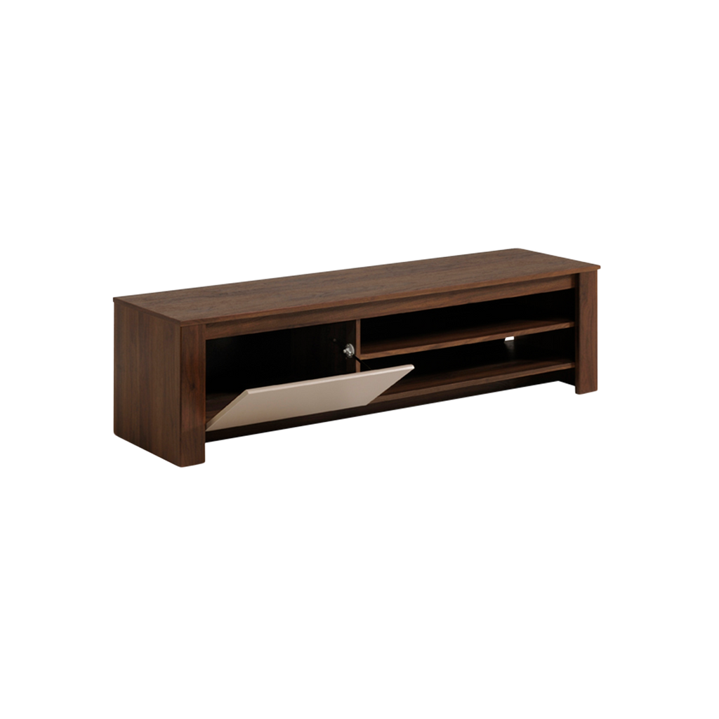 Mueble para tv de nogal for Mueble para tv de madera
