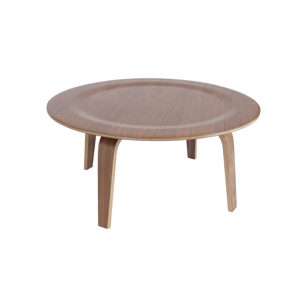 Mesa Central Four de Madera Triplay - Nogal