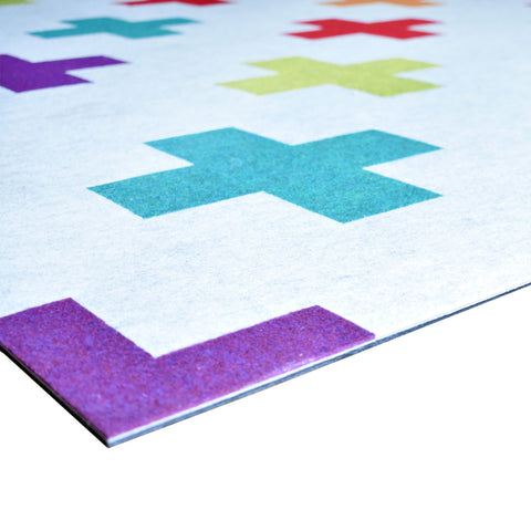 Onther Tapete Modular de Poliéster - Multicolor