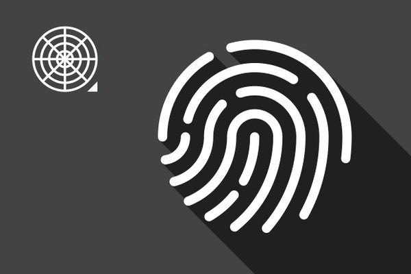 Draw fingerprint icon using the Polar Grid Tool