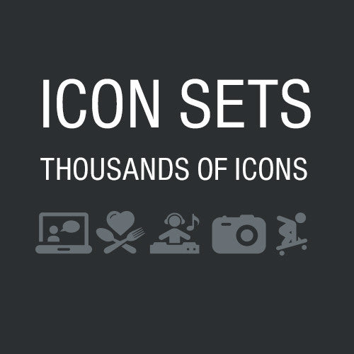 Black Series Vector Icons