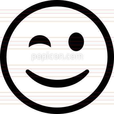 Emoji Smiley Face Icon Sample
