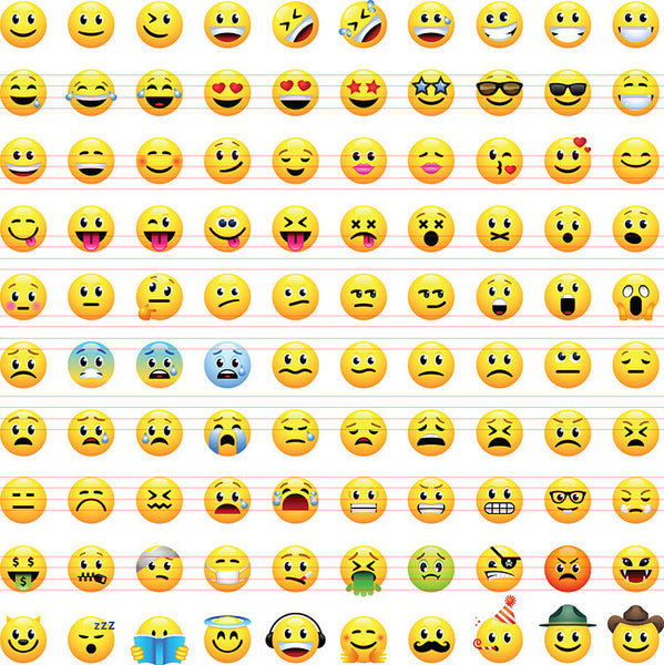 100 Smileys Icon Set