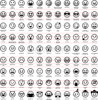 99 Emoji Smiley Face Icons